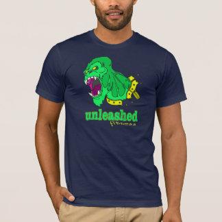 Losgebundene Fitness - grüner Gorilla T-Shirt