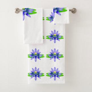 Lotos-Blume Badhandtuch Set