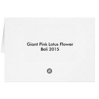 Lotos-Blume, rosa Lotos, Lilienauflage, Teich, Karte