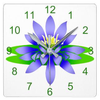 Lotos-Blume Uhr