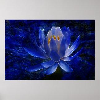 Lotos-Blume und seine Bedeutung Poster