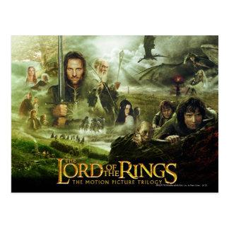LOTR Film-Plakat-Kunst Postkarte
