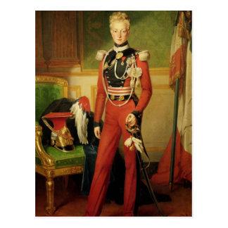 Louis-Charles-Philippe von Orleans-Herzog von Postkarte