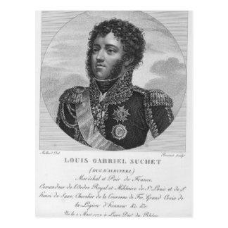 Louis-Gabriel Suchet Herzog von Albufera Postkarte