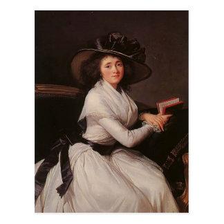Louise Elisabeth Vigee Le Brun- Countess von Postkarte