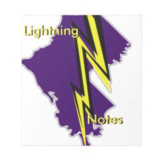 """Louisiana-Blitz 5,5"""" x 6"""" Notizblock"""
