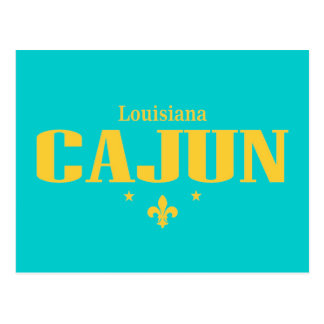 Louisiana Cajun Postkarte