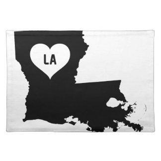 Louisiana-Liebe Tischset