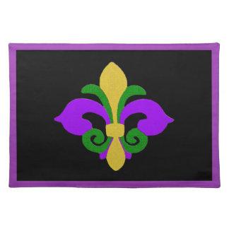 Louisiana-Lilie (Karneval) .jpg Tischset