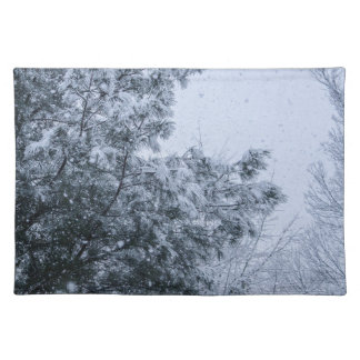 Louisiana-Schnee Tischset