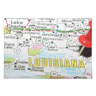 Louisiana Stofftischset