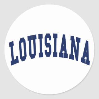 Louisiana-Uni Aufkleber