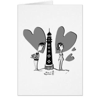 Love in Biarritz Karte