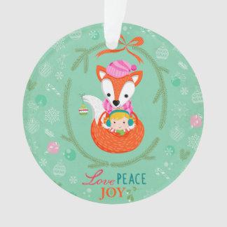 """Love, Peace & Joy"" Christmas Onament Ornament"