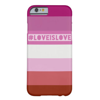 #LoveIsLove hashtag Telefonabdeckung Barely There iPhone 6 Hülle