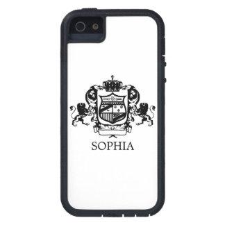 Löwe-Emblem kundengerecht iPhone 5 Schutzhülle