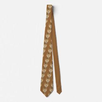 Löwe-Gesicht Personalisierte Krawatte