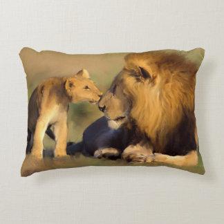 Löwe-Kissen Zierkissen