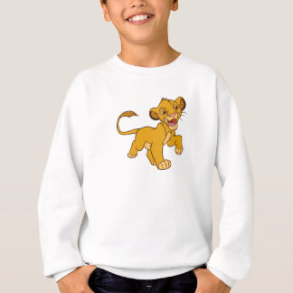 Löwe-König Simba gehendes Disney Sweatshirt
