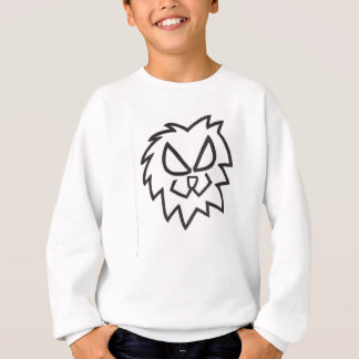 Löwe-Kopf-Schweiss-Shirt Sweatshirt