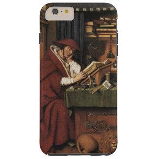 Löwe Medieval Renaissance van Eyck St Jerome Tough iPhone 6 Plus Hülle
