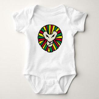 Löwe-Rastafari farbige Mähne Babybody