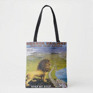 Löwe-Uganda-Reise-Taschen-Tasche Afrika