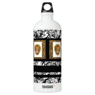 Löwe-Wasser-Flasche zwei Wasserflasche