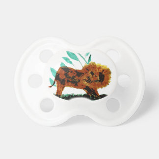 Löwe-wildes Tier-Kunst Baby Schnuller