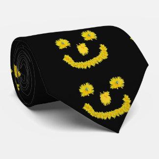 Löwenzahn-Smiley Individuelle Krawatten