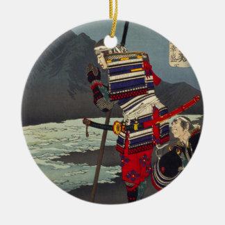 Loyales Samu - Tsukioka Yoshitosh Keramik Ornament