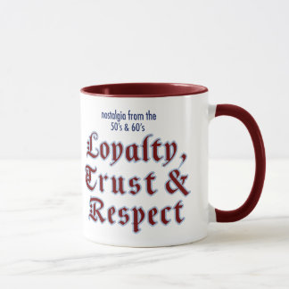 Loyalitäts-Wecker-Tasse Tasse