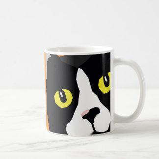 Lucas die Pop-Kunst-Tasse der Katze abstrakte Tasse