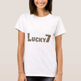LuckySeven Weihnachtsbaum-Dekorationen T-Shirt