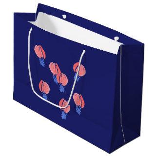 Luft-Ballon-große glatte Geschenk-Tasche Große Geschenktüte