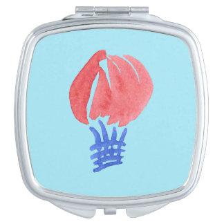 Luft-Ballon-Quadrat-Vertrags-Spiegel Taschenspiegel