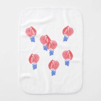 Luft-Balloneburp-Stoff Spucktücher