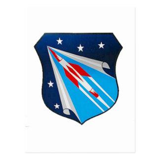 Luft-Forschung und Entwicklung Befehls-Emblem Postkarte