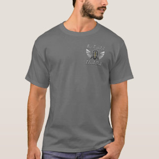 Luft-Hauptstadt Edsel Verein-Grau-T - Shirt