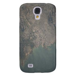 Luftaufnahme des Port-au-Princebereichs von Haiti Galaxy S4 Hülle