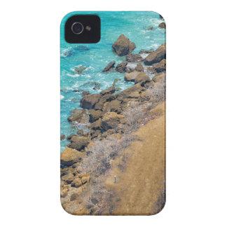 Luftaufnahme-Ozean-Küstenlinie Puerto Lopez E iPhone 4 Case-Mate Hüllen