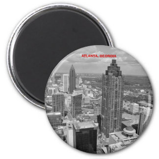 Luftaufnahme von Atlanta, Georgia Runder Magnet 5,1 Cm