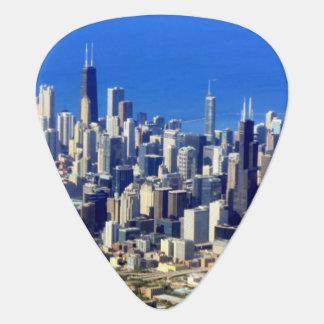 Luftaufnahme von Chicago im Stadtzentrum gelegen Plektron