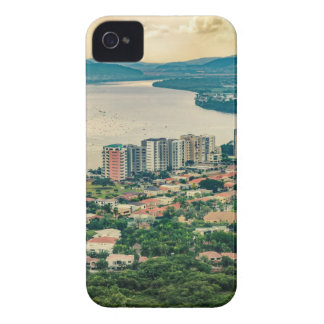 Luftaufnahme von Guayaquil-Stadtrand vom Flugzeug iPhone 4 Hüllen