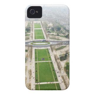 Luftaufnahme von Paris iPhone 4 Cover