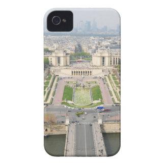 Luftaufnahme von Paris iPhone 4 Hülle
