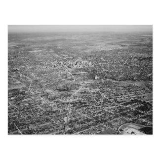 Luftaufnahme von San Antonio, 1939 Postkarte