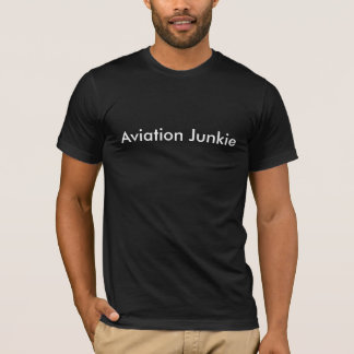 Luftfahrt-Junkie-Shirt T-Shirt