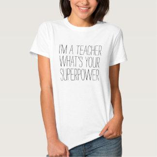 Lustig bin ich ein Lehrer, was Ihr Geschenk der Hemd