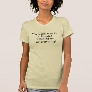 Lustig für sie, Mammen, Büro oder irgendeinen Job T-Shirt